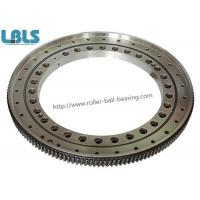 Rolling Slewing Bearing JB/T 10471-2004 for Port Machinery , 318.6x171x40mm Manufactures