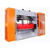 China Full Auto Large Expanded Metal Mesh Machine High Speed 1250mm Max Coil Width for sale
