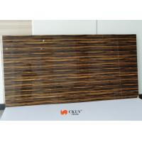 Contemporary Melamine Wood Grain 18mm MDF Board For Wardrobe / Cupboard Manufactures