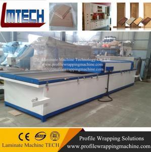 Two worktable High gloss vacuum membrane press machine Manufactures