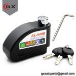 Scooter/Motorcycle Anti-Thieft Alarm Disc Lock Wheel Brake Disc Lock Manufactures
