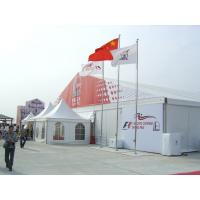 China PVC 40m X 30m Outdoor Event Tent Fire Retardant With Logo / Transparent Cover wholesale