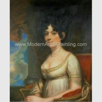China Noblewoman Oil Painting Reproduction Classic Portrait art Hand Painted on canvas on sale