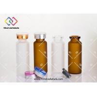 Clear Small Glass Vials With Cork Tops / Small Drift Bottle 20ml - 24x 65mm Manufactures