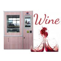 CE FCC Approved Wine Salad Jar Vending Machine With Remote Control Function Manufactures