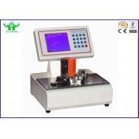 Automatic Package Testing Equipment LCD Computerized / Cardboard Stiffness Tester 0.1mN Manufactures
