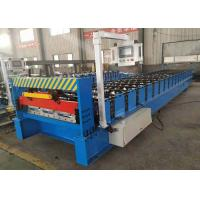 China R - Panel  Roof Roll Forming Machine  26 GA Galvalume Coil Easy Operation on sale