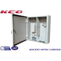 Buy cheap KCO-ODB-72A 72core 96cores Outdoor Wall-mountable Metallic Optical Terminal Fiber Distribution Box from wholesalers