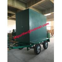 Four Wheels trailer vacuum transformer oil cleaner, insulation oil filtration machine Manufactures