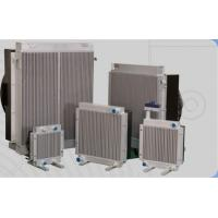 Light Weight Aluminum Hydraulic Oil Cooler With Fan , Aluminum oil cooler Manufactures