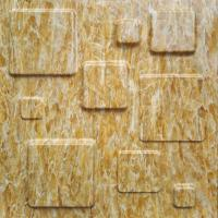 Fire Retardant 3D Textured Wall Panels / 3D Marble Stone Wall Textures Manufactures