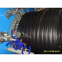 PE Huge Calibre Hollowness Wall Winding Plastic Pipe Machine 540kgs/h Manufactures