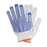 PVC dotted gloves, Cotton PVC dotted gloves Manufactures