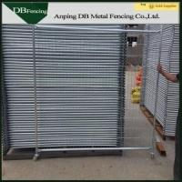 Free Standing Temporary Metal Fencing For Residential And Industrial Field Manufactures