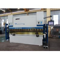 135 Ton Press Brake Hydraulic Press Bending Machine With Structural Compensation System Manufactures