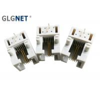 Buy cheap Single Port RJ11 Female Connector Tab Down Side Entry 6 Position 2 Contacts from wholesalers