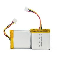 1C Rate 650mAh 3.7 V Lithium Battery Pack For Portable Source Manufactures
