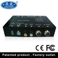 Realtime Video Audio Input 4 Channel Car DVR Recorder With Remote Controller Manufactures