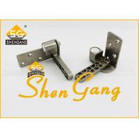 Furniture Hardware 90 Degree Pivot Door Hinges for Wooden Door , Stainless Steel Corner Hinge Manufactures