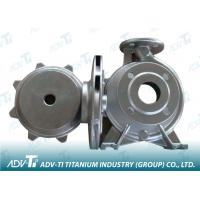 Silver Nickel based alloy Titanium Investment Casting Pump Body Manufactures