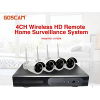 4 Channel Wireless Hd Remote Home Surveillance Ip66 Waterproof Outdoor Manufactures