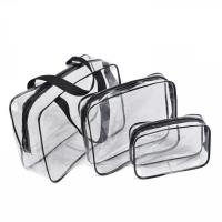 China transparent plastic pvc wash bags custom logo waterproof traveling towel bags on sale