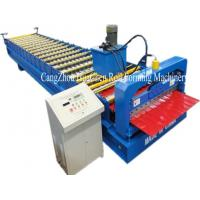 China Hi Rib Trapezoidal Wall Panel Roll Forming Machine , roof sheet forming machine on sale