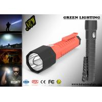 Waterproof IP 68 Powerful Led Torch With CREE OLED Digital Screen 20000Lux Manufactures