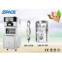 304 Stainless Steel Soft Serve Freezer , Commercial Ice Cream Equipment Manufactures