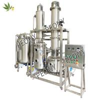Stainless steel fractional Molecular Distillation hemp extraction Equipment for CBD oil from cannabis Manufactures