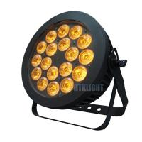 China Outdoor Concert Waterproof LED Par Light 18x10W RGBW 4in1 LED Effect Lightings on sale