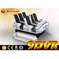 Max Load 1200 KG 9d Cinema Simulator With Special Effects 1440 x 2560 VR Headset Manufactures