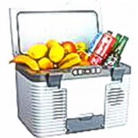 China Professional Compressor Car Cooler Refrigerator Camping Freezer With LED Dispay on sale