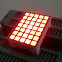 Ultra Red Dot Matrix Led Display 5x7  22 x 30 x 10 mm For Lift Position Manufactures