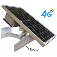 China Wireless Wifi 4G Router With Solar Power SIM Card Slot / Dual Sim 4G Lte Router D on sale
