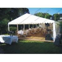 Garden Grass PVC Event Tent White Curtain ABS Hard Wall For Party Activities Manufactures