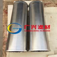 304 Welded Wedge Wire Mesh Screen Manufactures
