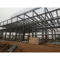 Multi Floors Structural Steel Frame Buildings High Rise Steel Structures Construction Manufactures