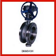 China Flanged Center Line Butterfly Valve , Ductile Iron Butterfly Valve on sale