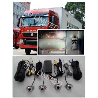 360 Around  View image Car Reverse Camera System for Buses and Trucks monitoring  With 4 channel 180° HD DVR Manufactures