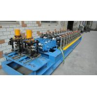 Customized Profiles Drawings Shutter Door Roll Forming Machine 12 Forming Groups Manufactures