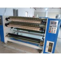 Super Clear Slitting and Rewinding machine , OPP / Cellophane adhesive tape slitter machine Manufactures