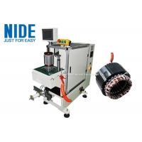 China Programmable automatic stator end coil lace machine Single working station on sale
