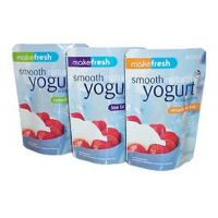 Healthy Aluminum Foil Stand Up Pouch , Resealable Foil Bags For Yogurt / Coffee Manufactures