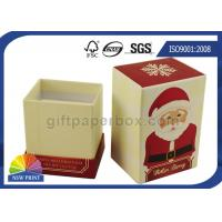 Christmas Design Luxury Rigid Gift Box / Cardboard Gift Boxes Custom Printed Manufactures