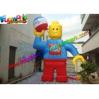 China Customzied 6mh Inflatable Man , Inflatable Robert Toy for Advertising on sale