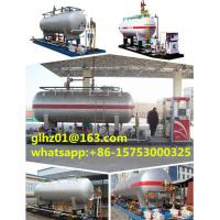 China new LPG skid filling station LPG storage tank price with 10m3 capacity Manufactures