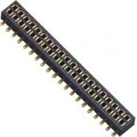 Female Dual Row Header Connector SMT With Post  1.0AMP 1.27mm H=2.0 Manufactures