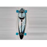 China Four Wheel Fish Canadian Maple Skateboard Decks / Long Cruiser Skateboards on sale