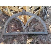 Antique Architectural Cast Iron Windows Salvage Half Moon Shape H19*W32CM Manufactures